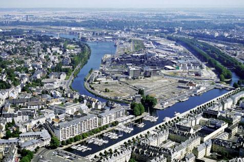Presqu ile europe ecologie les verts caen for Piscine caen